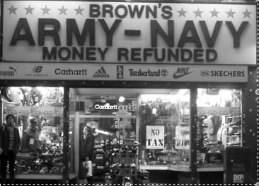 Brown's Army & Navy