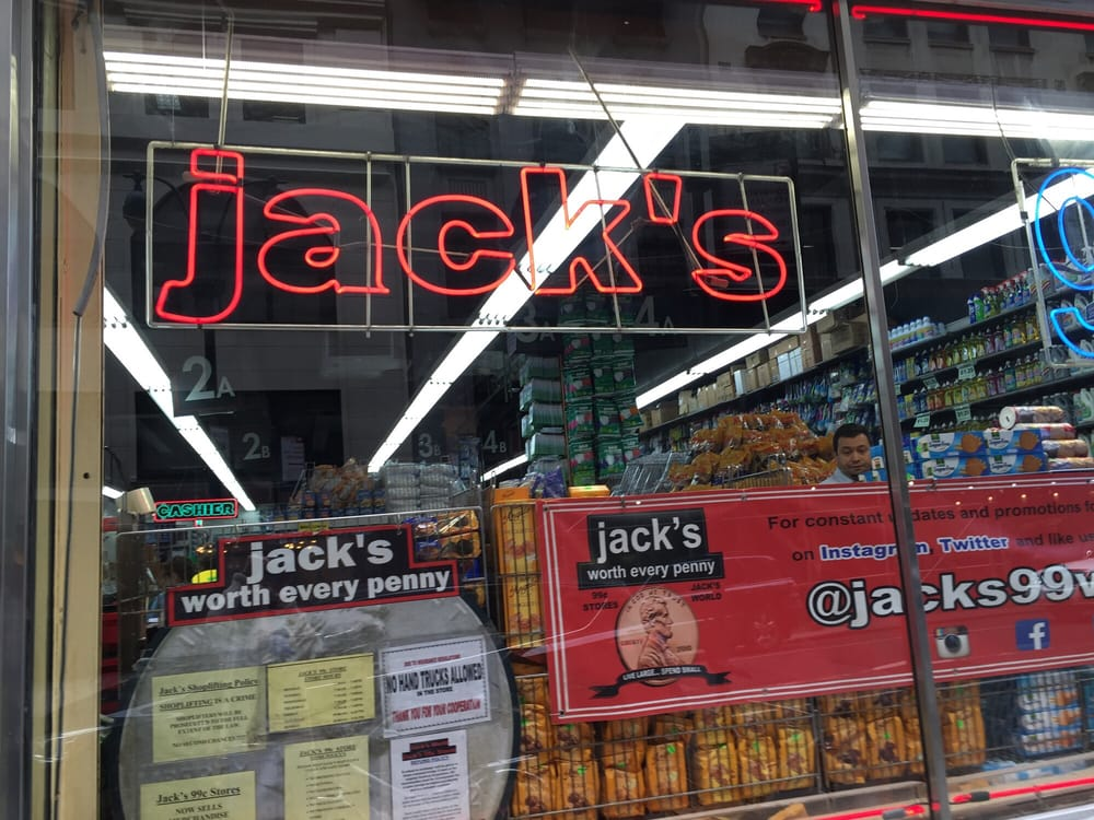 Jack 99 Cent Store Locations