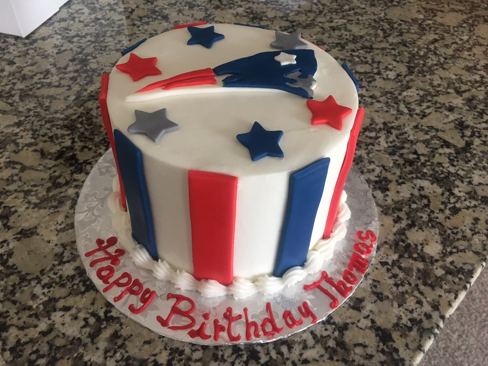 New England Patriots Birthday Cake Yelp