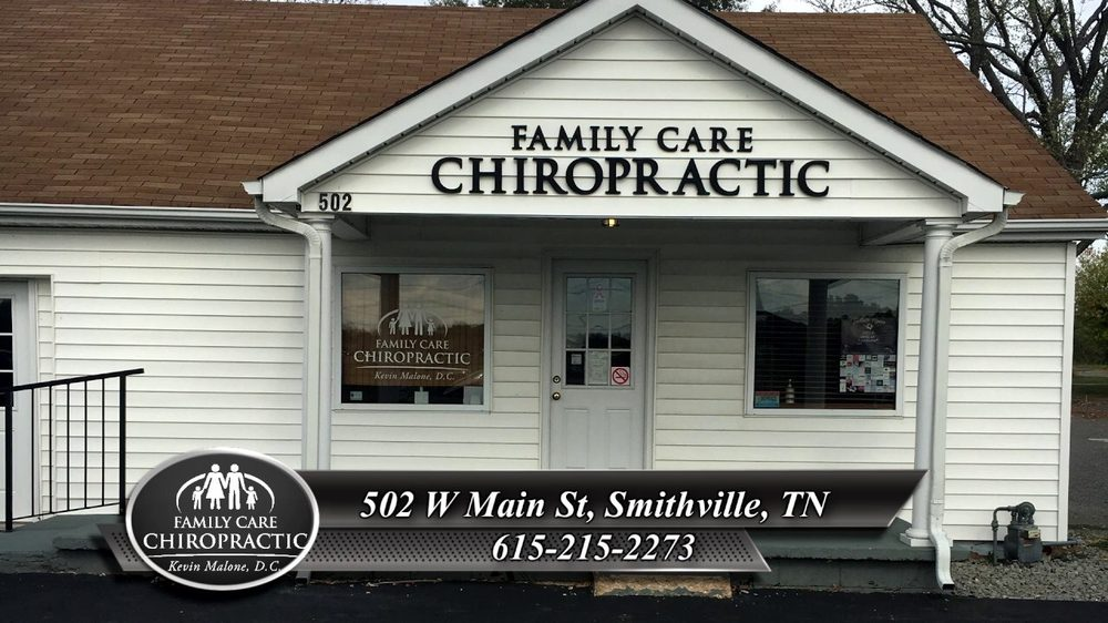 Family Care Chiropractic: 502 W Main St, Smithville, TN