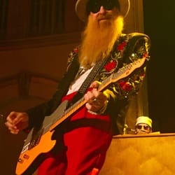 Photo Of Neptune Theatre Seattle Wa United States Billy Gibbons Zz