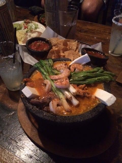 BEST item on the menu....the molcajete bowl - Yelp