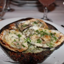P O Of Antoines Restaurant New Orleans La United States Charbroiled Oysters