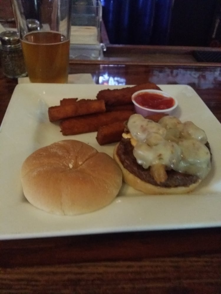 ... Restaurant and Brewery - Mahomet, IL, United States. Black jack burger