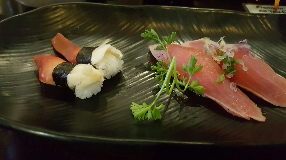 Surf clam sushi, peppered albacore sushi - Yelp