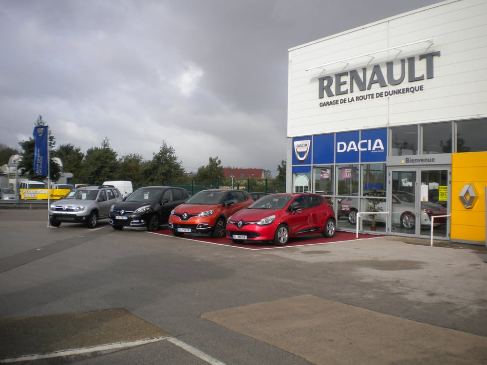 concession renault garage de la route de dunkerque car dealers avenue l on jouhaux