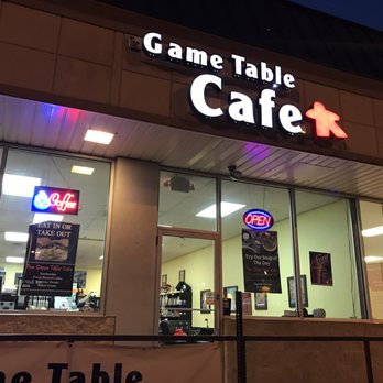 Photo Of The Game Table Cafe   Mechanicsburg, PA, United States