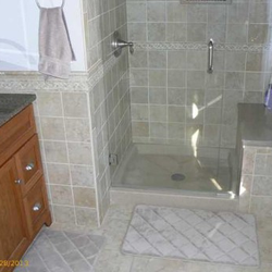 Photo Of Kitchen Encounters   Augusta, ME, United States. Bath Remodel  Using A