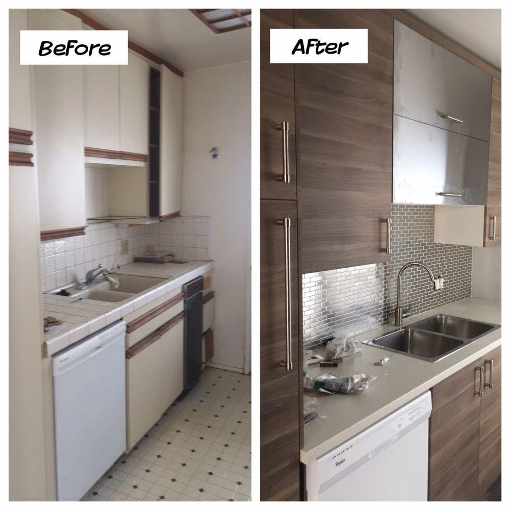 Kitchen Remodel. Cabinet Installation