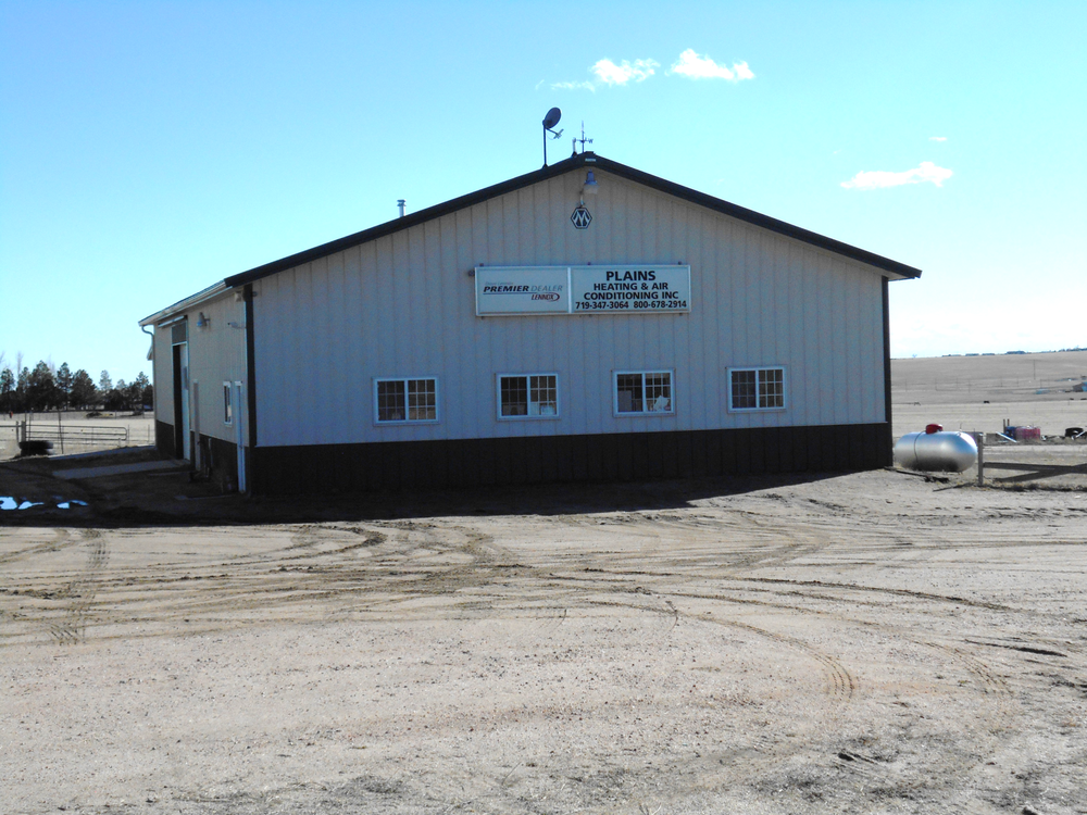 Plains Heating and Air Conditioning: 21275 Hwy 24 E, Peyton, CO