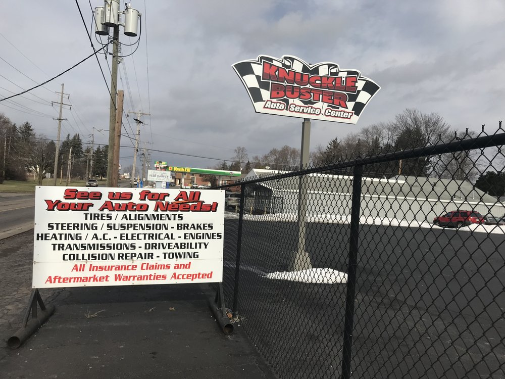 Knuckle Busters: 666 Youngstown-Poland Rd, Struthers, OH