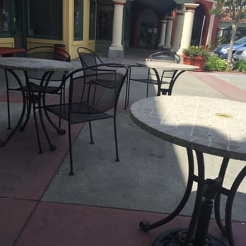 Photo Of Big Apple Bagels   San Marcos, CA, United States. Outdoor Patio