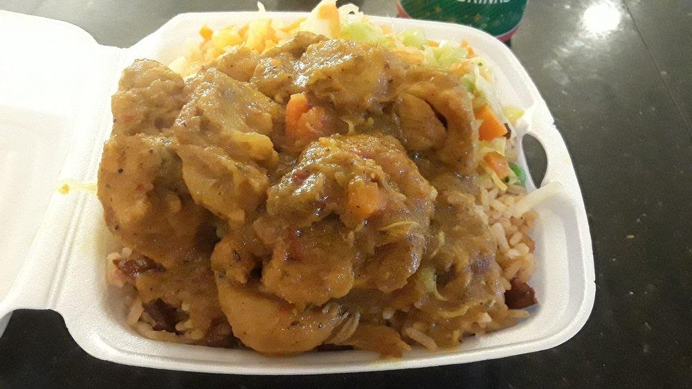 Food from Aunt Chelda's Caribbean Cuisine