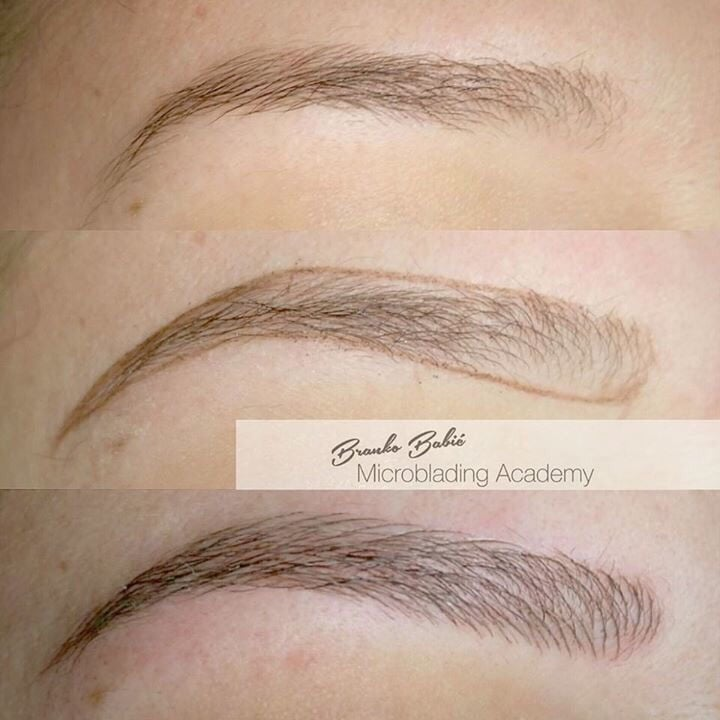 Phibrows art procedure last 6mo to 12 mo before touch up for Hairline tattoo cost