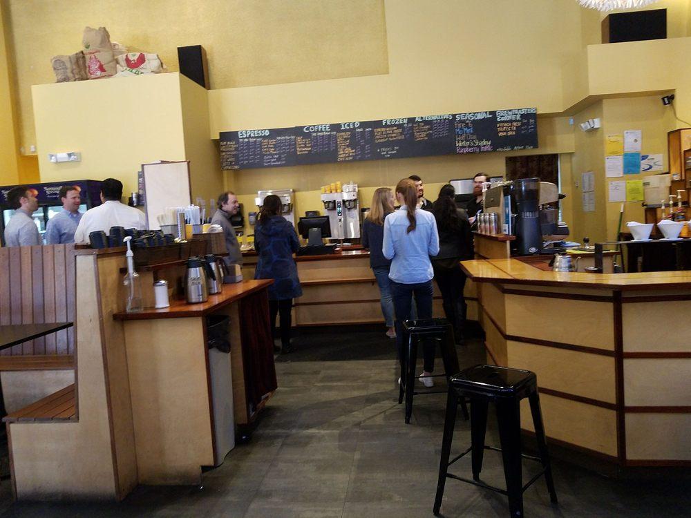 Photo of Flat Black Coffee Company: Boston, MA