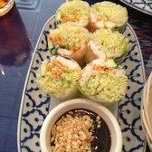 Photo Of Thai Chili Restaurant Covington La United States Basil Roll