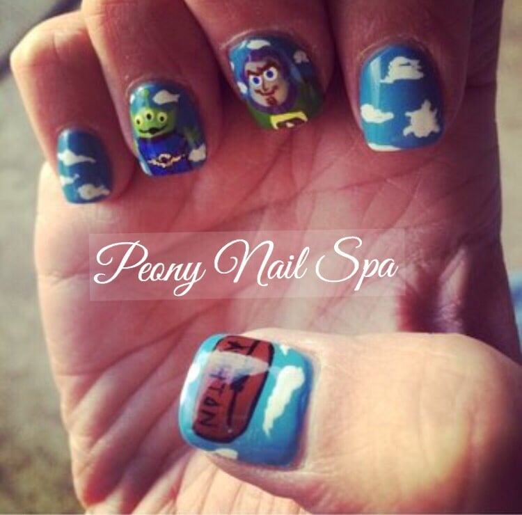 Peony nail spa inc nail salons 8095 wedgewood ln n for 108th and maple nail salon