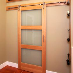 Photo Of Medallion Industries Portland Or United States Barn Door Style Sold