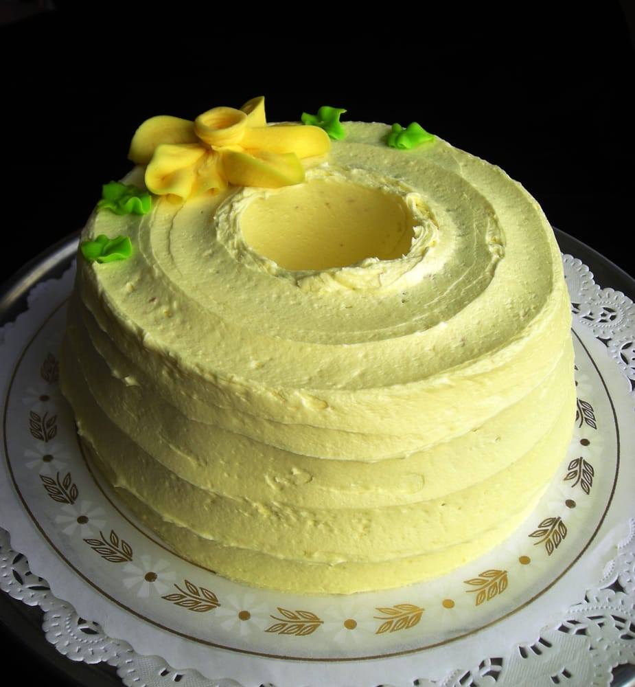 Sponge Cake Made With Cream Instead Of Butter