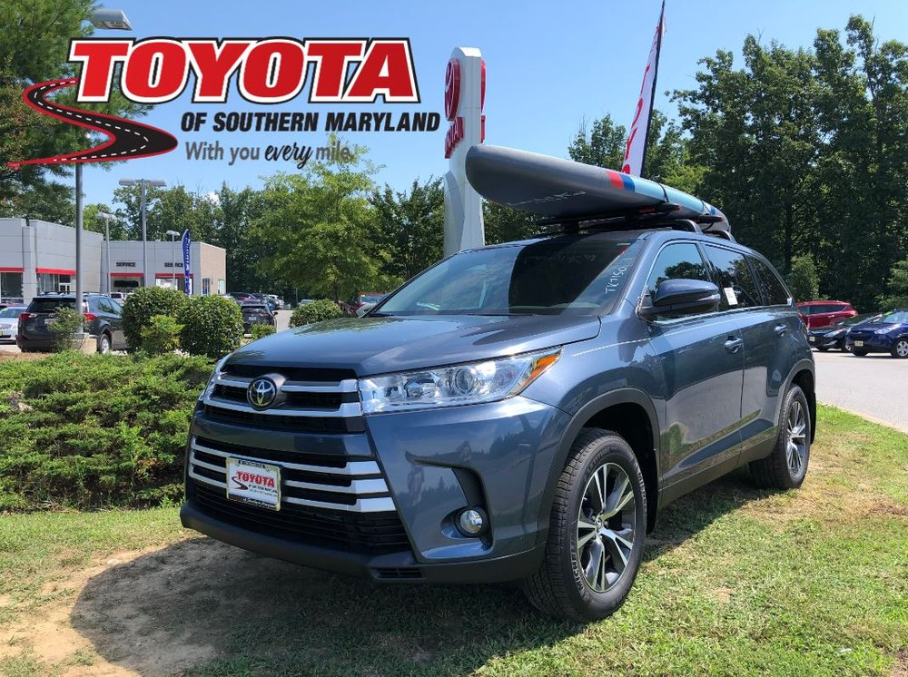 Toyota Of Southern Maryland >> 2019 Highlander With A Roof Rack This Roof Rack Can Be