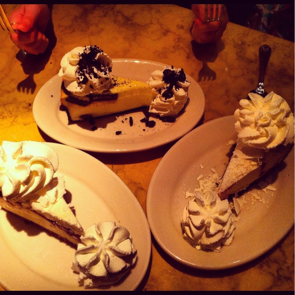 The Cheesecake Factory in Burlington is an American restaurant with internationally influenced dishes throughout the menu. At The Cheesecake Factory, you can take a tasty trip around the world.
