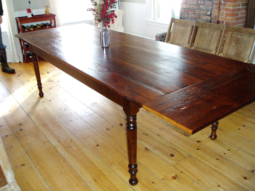 Photo Of New England Joinery   Essex, MA, United States. Handmade Farm Table