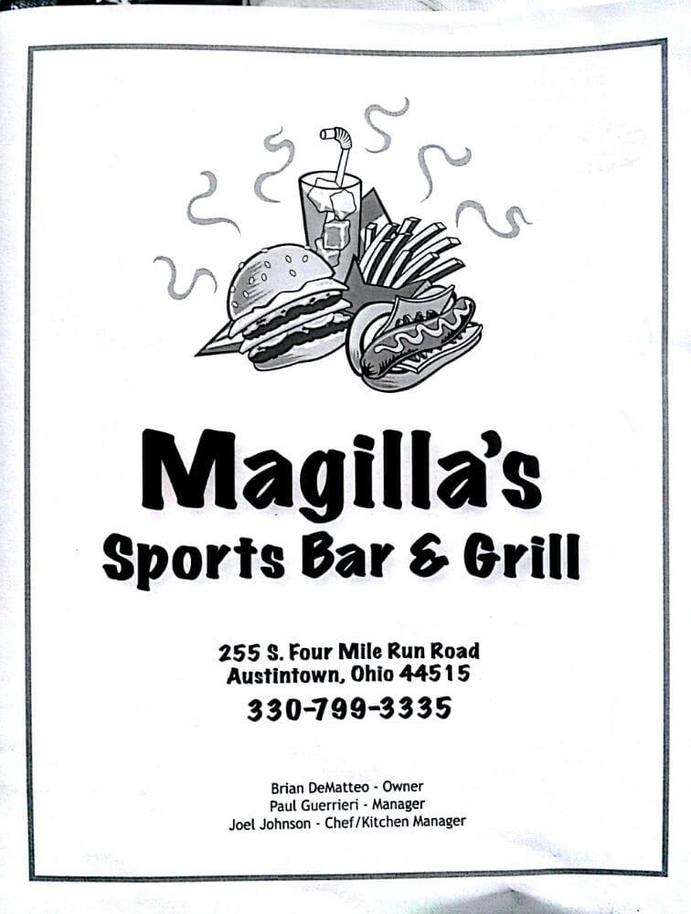 Magilla's Sports Bar & Grill: 255 S Four Mile Run Rd, Austintown, OH