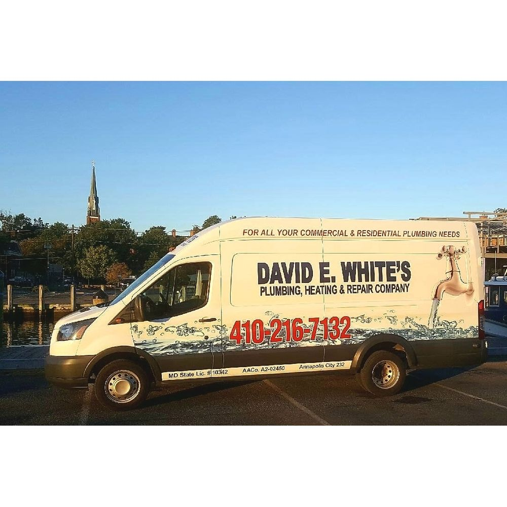 David E White's Plumbing, Heating & Repair Company: 1321 Hazel Nut Ct, Annapolis, MD