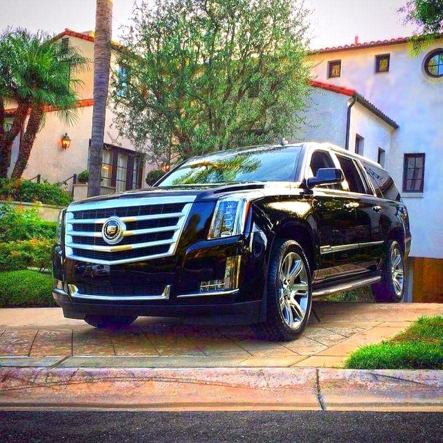 Cadillac Car Rental: A User Submitted Shot Of The Newly Modeled Cadillac Escalade.