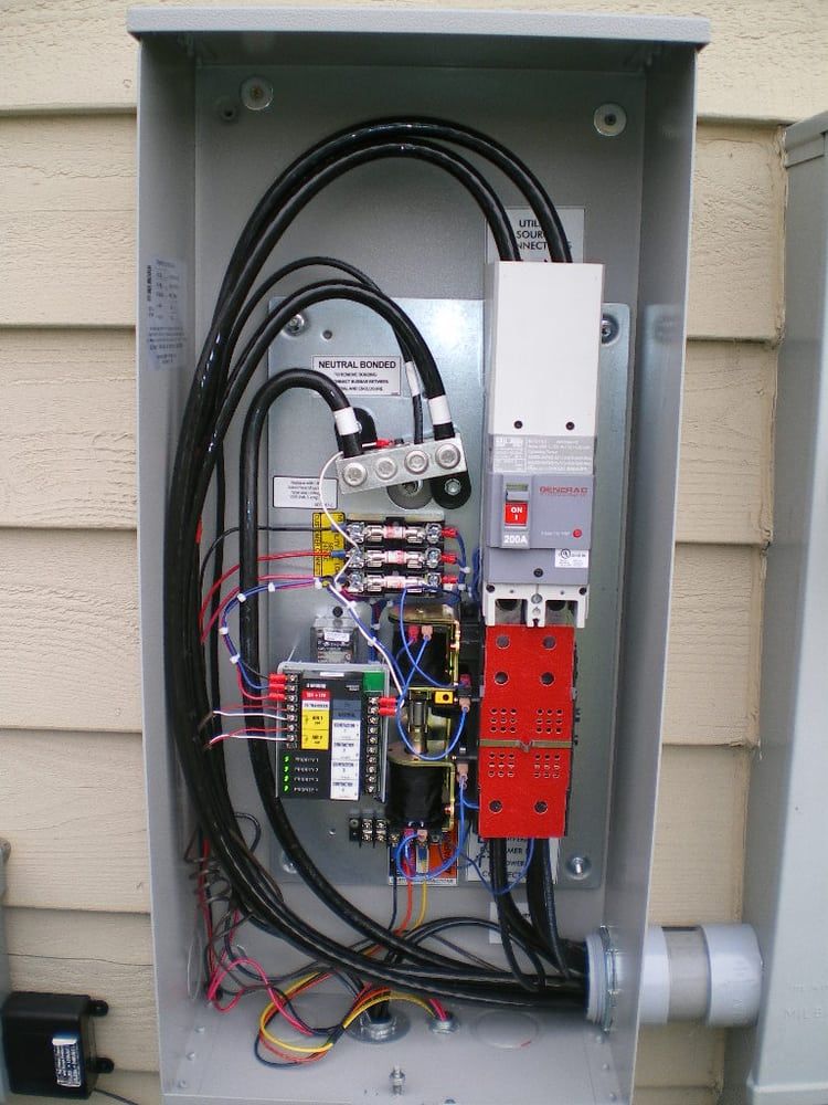 Generac Automatic Transfer Switch Wiring Diagram: 200A Generac Automatic Transfer Switch - Yelp,Design