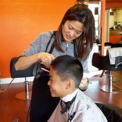 maggie cuts her hair