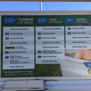 Cool Water Car Wash Prices