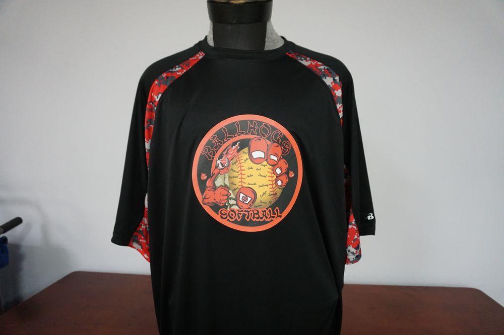 3d Imagewear Screen Printing T Shirt Printing 3930