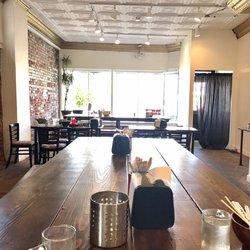 Photo Of Ramen Kazama Minneapolis Mn United States Extra Seating Area In