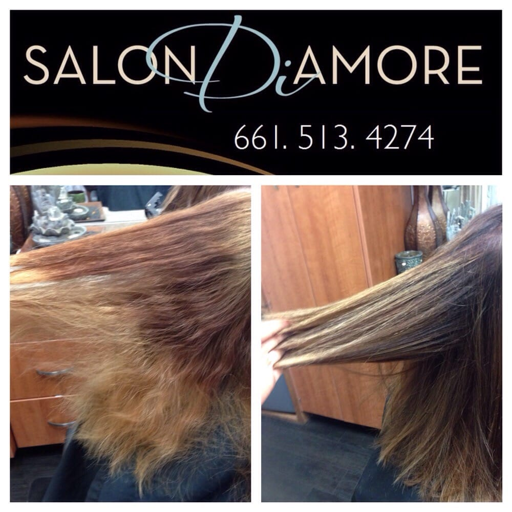Color Correction Hair Restoration Perfection Takes Time This Is
