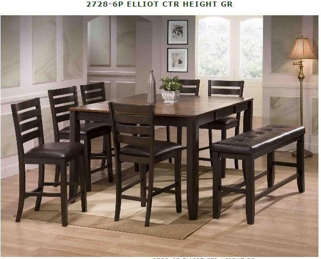 Table With 4 Chairs And One Bench For Yelp