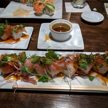 Photo Of Kabuki Anese Restaurant Irving Tx United States Cilantro Albacore Roll