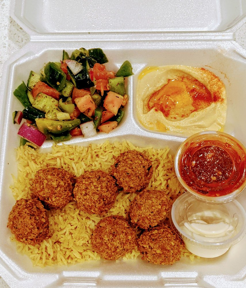 Lazeez Mediterranean Cafe: 6812 N Fm 620, Austin, TX