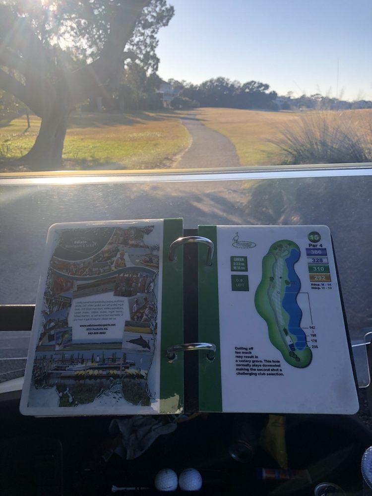 The Plantation Course: 19 Fairway Dr, Edisto Beach, SC