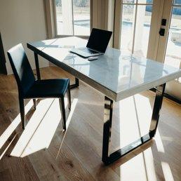 Photo Of Rustic Trades Furniture   Roswell, GA, United States. Braylon  Square Desk