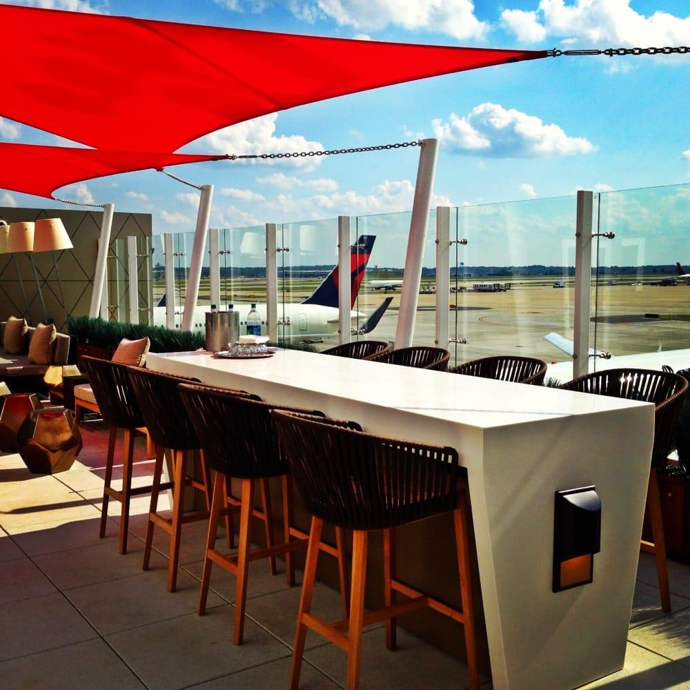 Atl Terminal F Skyclub Outdoor Skydeck Yelp