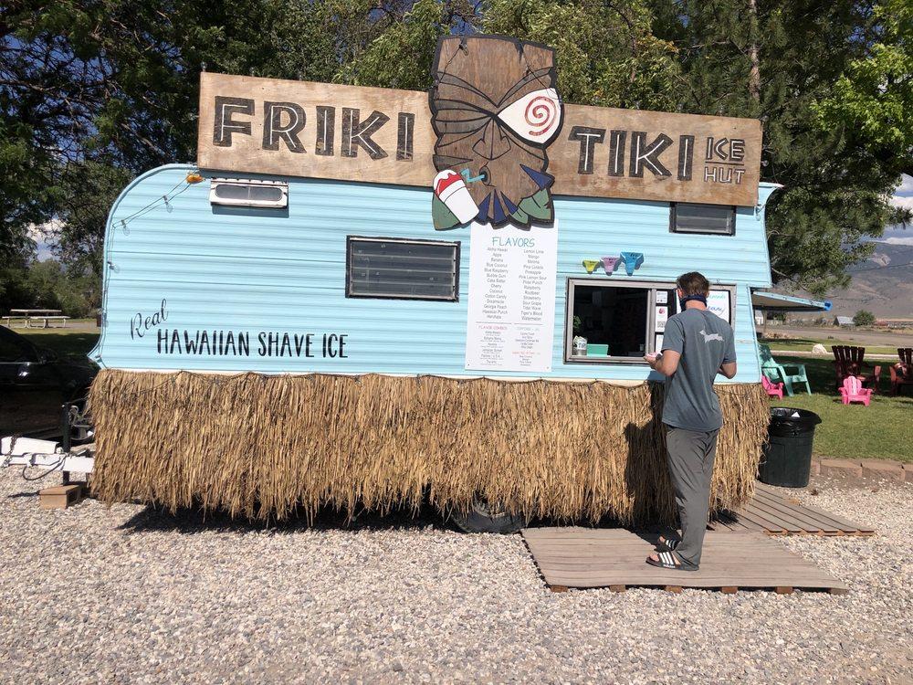 Friki Tiki Ice Hut: 145 E Main St, Circleville, UT