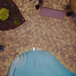 Photo Of Midstate Pools Warner Robins Ga United States Paver Area With