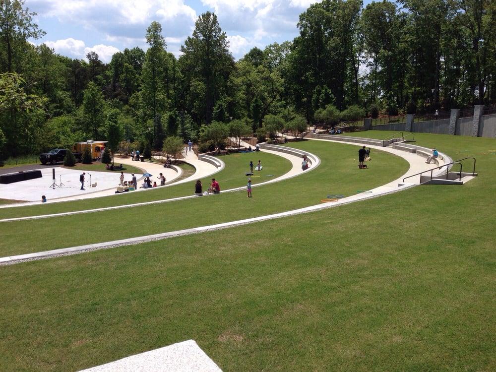 Ivester amphitheater yelp for Botanical gardens gainesville ga