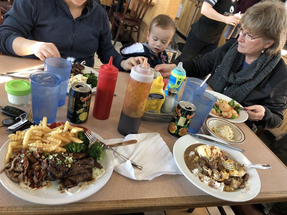 Food from Big Island Kona Mix Plate
