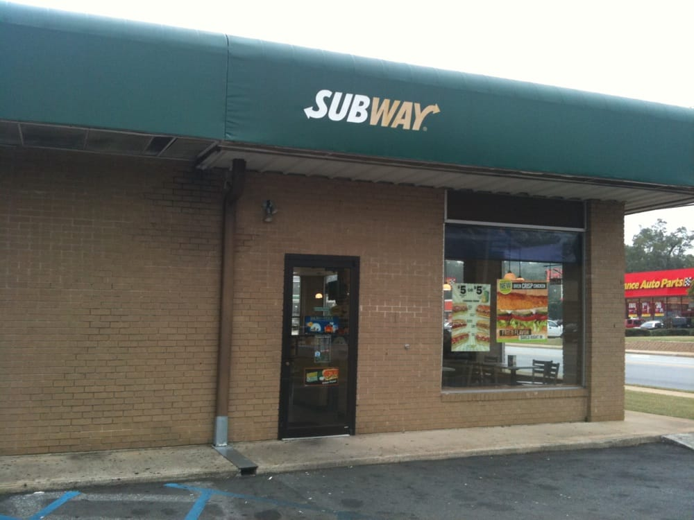 Subway: 1011 E Shotwell St, Bainbridge, GA