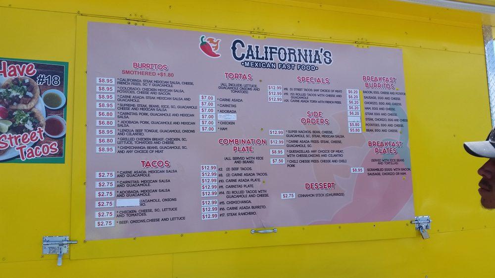 California's Mexican Fast Food: 437 Meadowlark Dr, Berthoud, CO