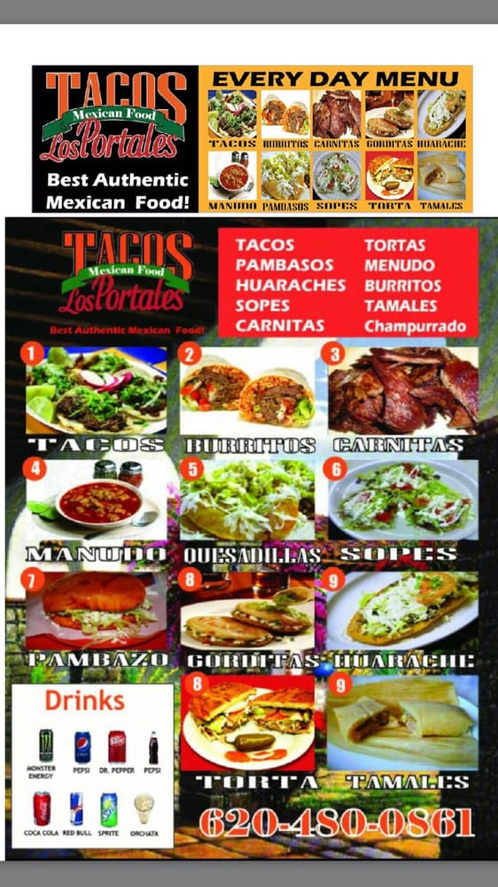 Tacos Los Portales: 1100 W Kansas Ave, McPherson, KS