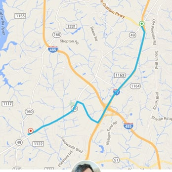 Uber Reviews Taxis Uptown Charlotte NC Yelp - Charlotte nc on us map