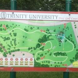 Trinity University Disc Golf Course Disc Golf 1